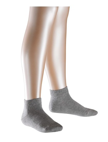 Falke Family Short Children's Socks light grey mel.