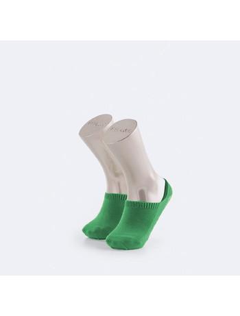 Falke Family Invisible Childrens Sneaker Socks emerald