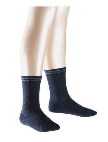 Falke 2 Friends Casual Children`s Socks Twopack navyblue melange