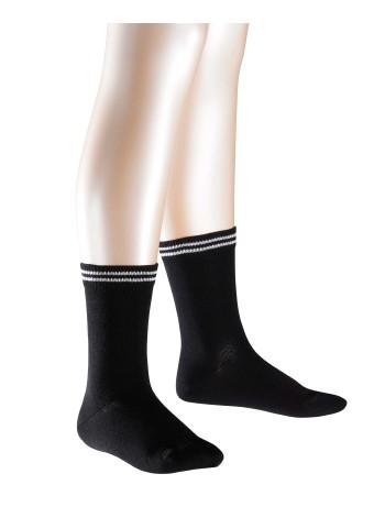 Falke 2 Friends Casual Children`s Socks Twopack black