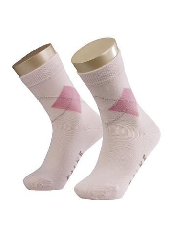 Falke Argyle Children's Socks rose-fuchsia