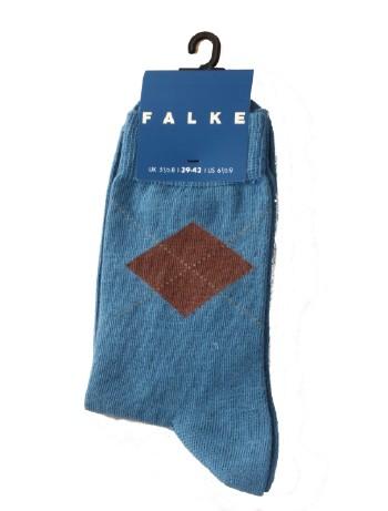 Falke Argyle Children's Socks niagara
