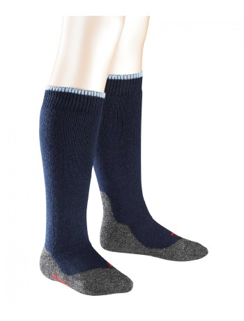 Falke Active Warm+ Children's Knee High Socks navy