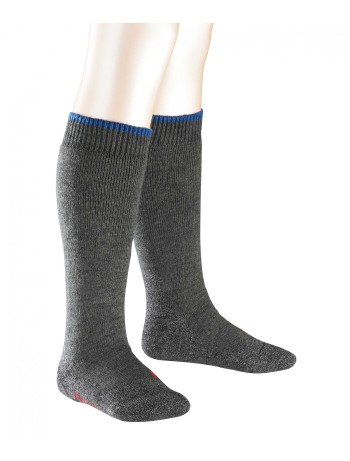 Falke Active Warm+ Children's Knee High Socks asphalte melange