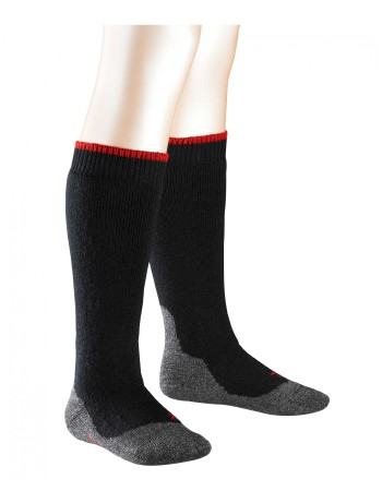 Falke Active Warm+ Children's Knee High Socks black
