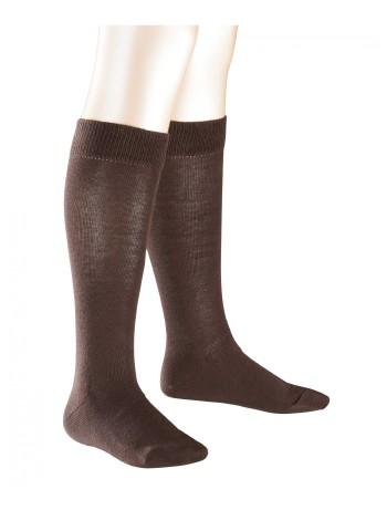 Falke Family Children Knee High Socks dark brown