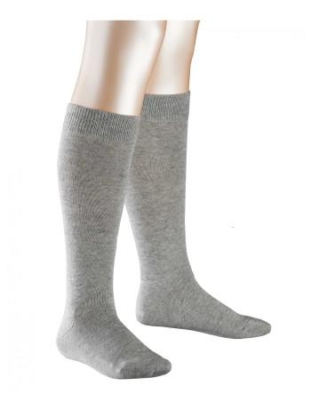 Falke Family Children Knee High Socks light grey