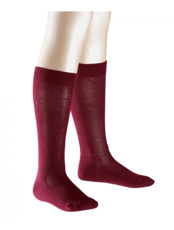 Falke Family Children Knee High Socks merlot