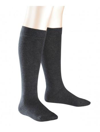 Falke Family Children Knee High Socks anthracite mel.