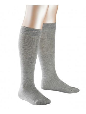 Falke Family Children Knee High Socks light grey mel.