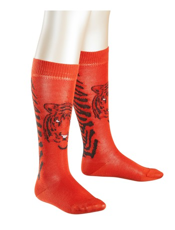 Falke Tiger Knee Children High Socks orange