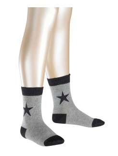 Fale Sparkle Star Children's Socks