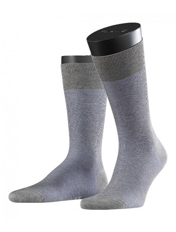 Falke Fine Shadow Men's Socks light grey mel.