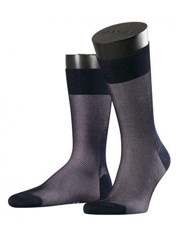 Falke Fine Shadow Men's Socks sailor-black