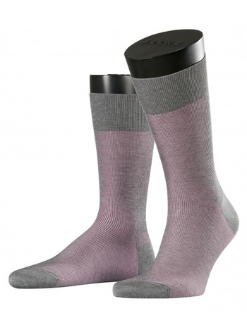Falke Fine Shadow Men's Socks stein mel.
