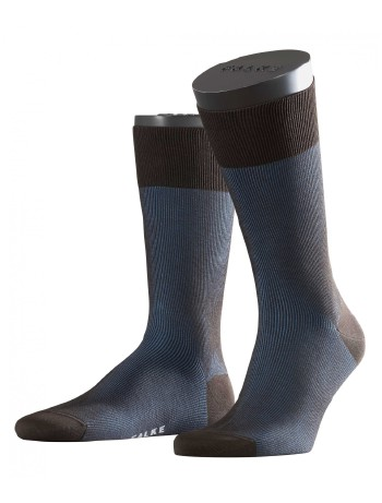 Falke Fine Shadow Men's Socks brown-indigo