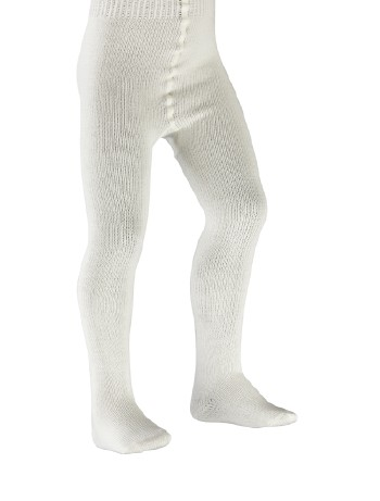 Falke Flausch Cotton and Wool Baby Tights offwhite