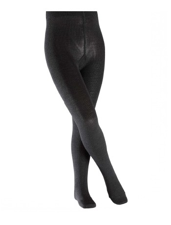 Falke Comfort Wool Children Tights anthracite mel.