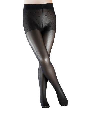 Falke Pure Matt 30 Children Pantyhose black