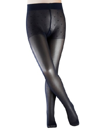 Falke Pure Matt 30 Children Pantyhose marine