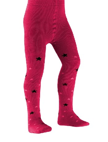 Falke Star Children Tights raspberry