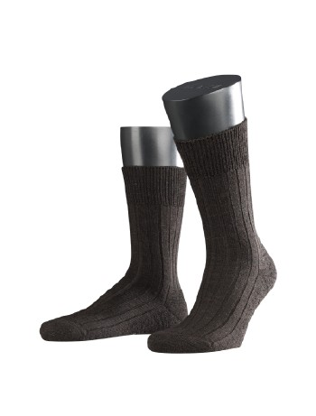 Falke Casual Socks for Men dark brown