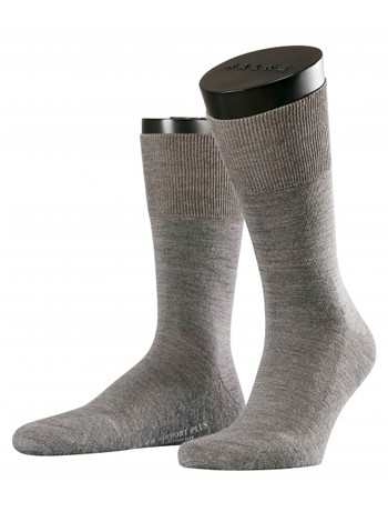 Falke Airport Plus Socks for Men dark grey