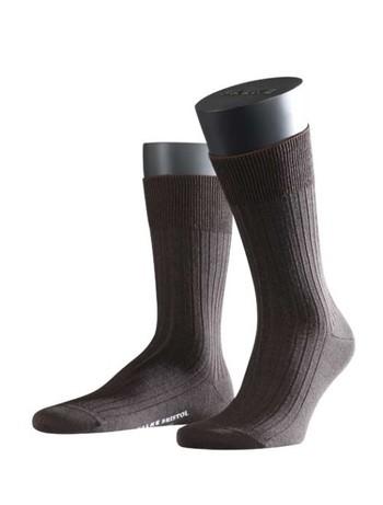 Falke Bristol Pure Mens Socks darkbrown