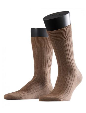 Falke Bristol Pure Mens Socks nutmeg mel.