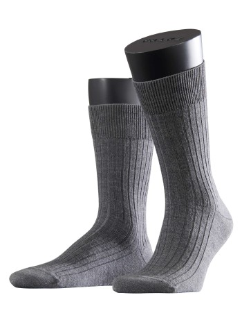 Falke Bristol Pure Mens Socks dark grey