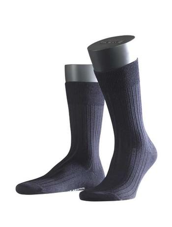 Falke Bristol Pure Mens Socks dark navy