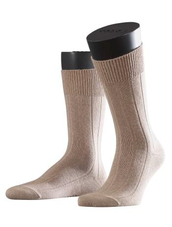 Falke Lhasa Rib Mens's Socks nutmeg mel.