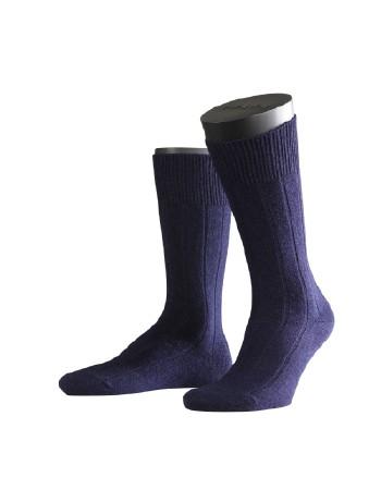Falke Lhasa Rib Mens's Socks dark navy