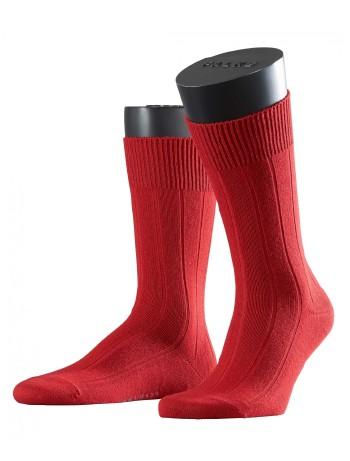 Falke Lhasa Rib Mens's Socks cranberry