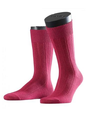 Falke Lhasa Rib Mens's Socks raspberry