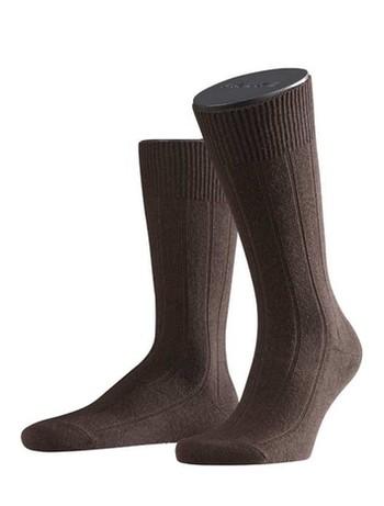 Falke Lhasa Rib Mens's Socks brown