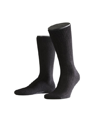 Falke Lhasa Rib Mens's Socks black