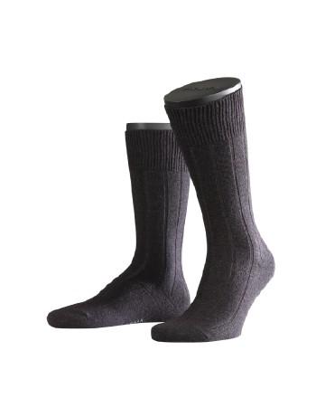 Falke Lhasa Rib Mens's Socks anthracite mel.