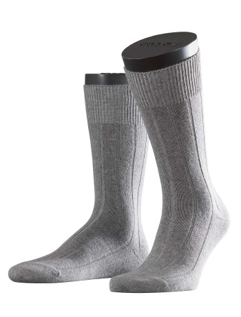 Falke Lhasa Rib Mens's Socks light grey