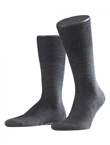 Falke Airport Men Socks asphalte melange