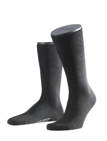 Falke Airport Men Socks anthracite mel.