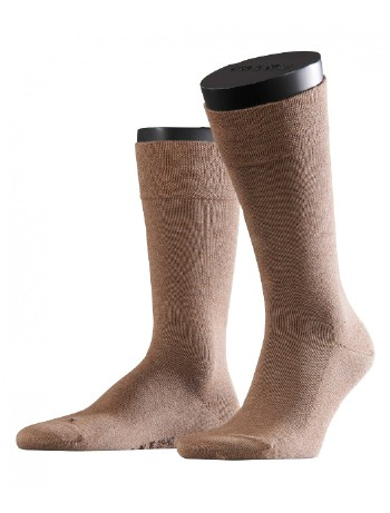 Falke London Sensitive Socks nutmeg mel.