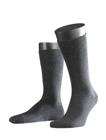 Falke London Sensitive Socks anthracite mel.