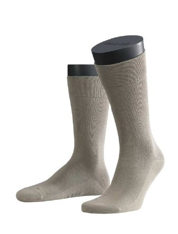 Falke London Sensitive Socks pale khaki