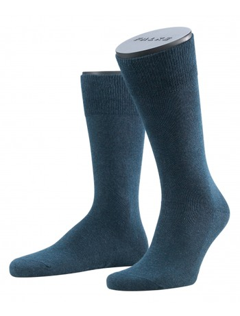 Falke Family Men's Socks navyblue melange