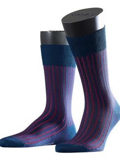 Falke Shadow Fil d'Ecosse Two Tone Stripe Men's Socks