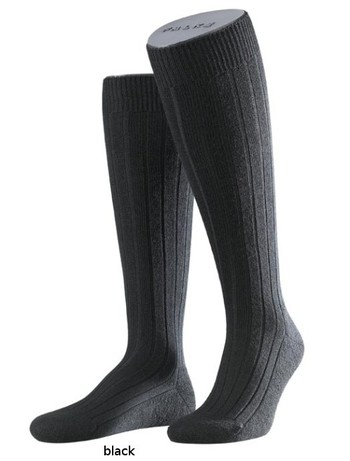 Falke Casual Men's Knee Highs black