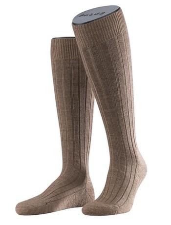 Falke Casual Men's Knee Highs nutmeg mel.
