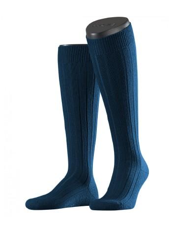 Falke Casual Men's Knee Highs royal blue