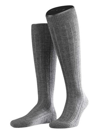 Falke Casual Men's Knee Highs dark grey